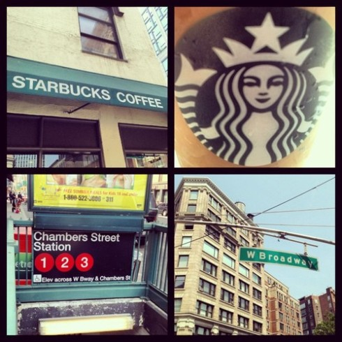Chambers and West Broadway Starbucks