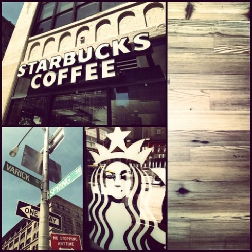 Spring and Varick Starbucks