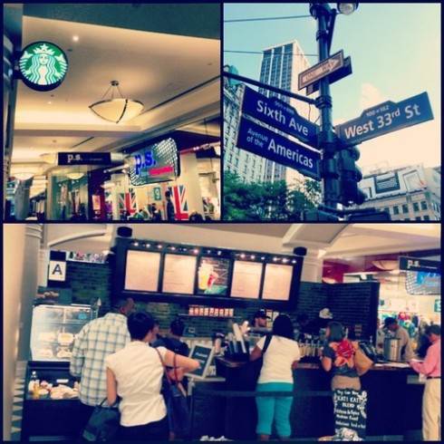 33rd and 6th Starbucks