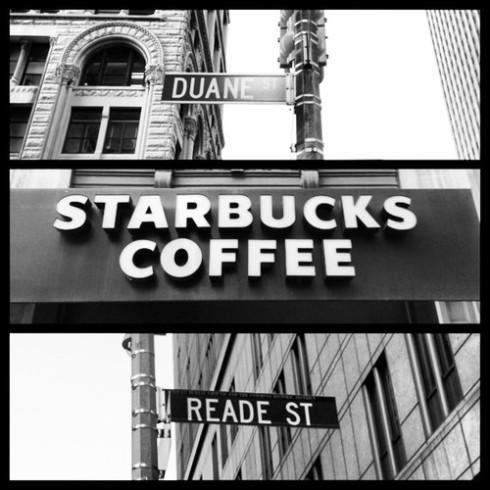 Reade and Broadway Starbucks
