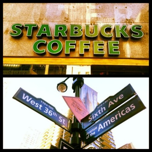 36th and 6th Starbucks