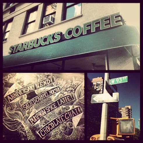 93rd and Broadway Starbucks