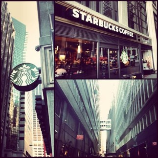 Front and Wall Starbucks
