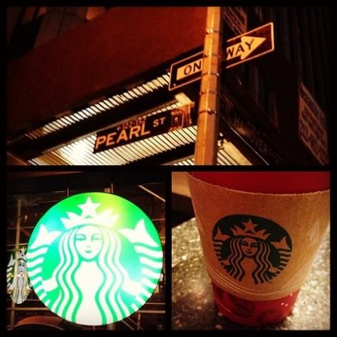 Hanover and Pearl Starbucks